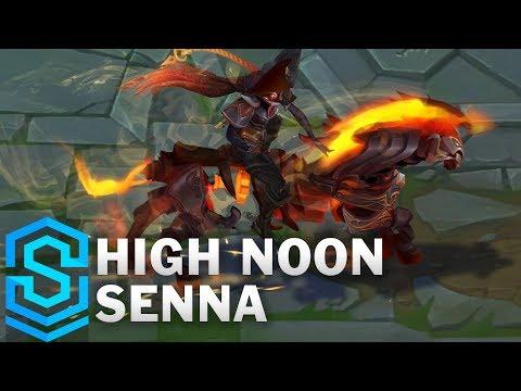 High Noon Senna Skin Spotlight - League of Legends