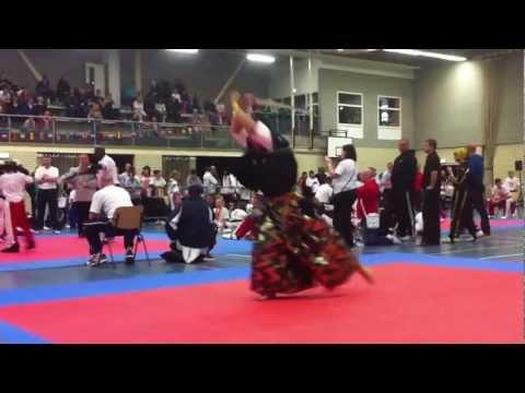 Samurai Ryan Hayashi 1st Place Weapons Form 2012 ISKA World Champion