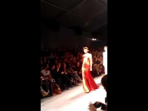Jenny Packham FW 2012 Finale - Mercedes Benz Fashion Week
