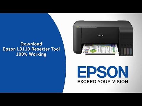 Download Epson L3110 resetter tool | Epson red light
