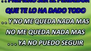 EL PERDEDOR ENRIQUE IGLESIAS FT MARCO ANTONIO SOLIS Karaoke Saul Nava