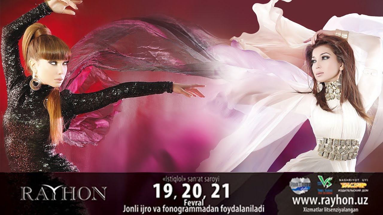 Rayhon - Sevgi... Bu nima? nomli konsert dasturi 2012