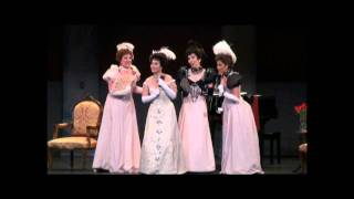 Yunnie Park sings Ore dolci e divine and scena with ladies HD