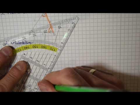 Dreieckskonstruktion WSW (Kongruenzsätze)