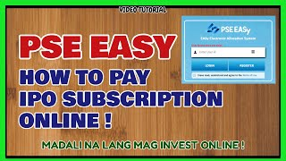How to Pay in IPO REIT in PSE Easy | PSE EASY ONLINE PAYMENT [PART 3]