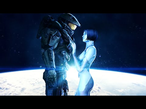 Best Master Chief and Cortana Moments (Love Story)