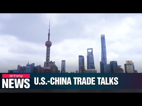 Top Trade Officials From U.S., China Meeting In Shanghai For First Time In Weeks