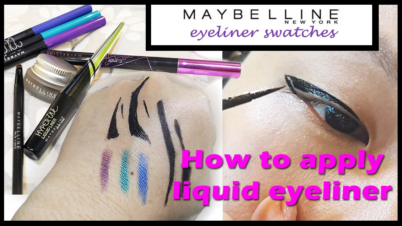 Maybelline Eyeliner Sale Hyperink Hypersharp Drama Gel Side By Hyper Sharp Wing Comparison Chubbychinicatt
