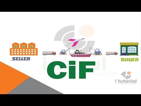 cost insurance and freight !! CIF !! incoterms !! international shipping terms !! i tutorial!!