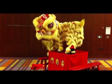 柔功門-醒獅-yau-kung-moon-sf-drunken-table-lion-dance-routine-@-intercontinental-hotel