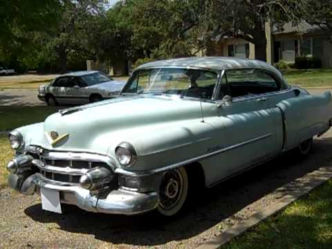 1953 Cadillac Series 62 Coupe with Factory Air Conditioning Part 1