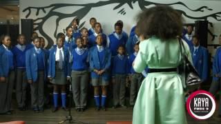 """Simphiwe Dana performs """"Inkwenkwezi"""" with the Thaba Jabula Secondary School Choir Part 2"""