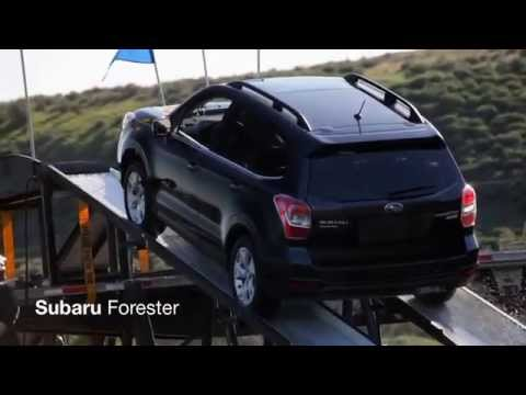 All-Wheel Drive Ramp Test - Forester vs. the Competition