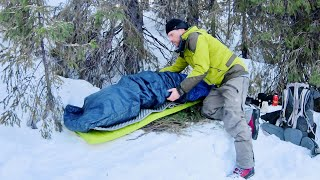 Solo Backpacking Two C๐ld Winter Nights