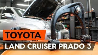 How to change front suspension arm on TOYOTA LAND CRUISER PRADO 3 (J120) [TUTORIAL AUTODOC]