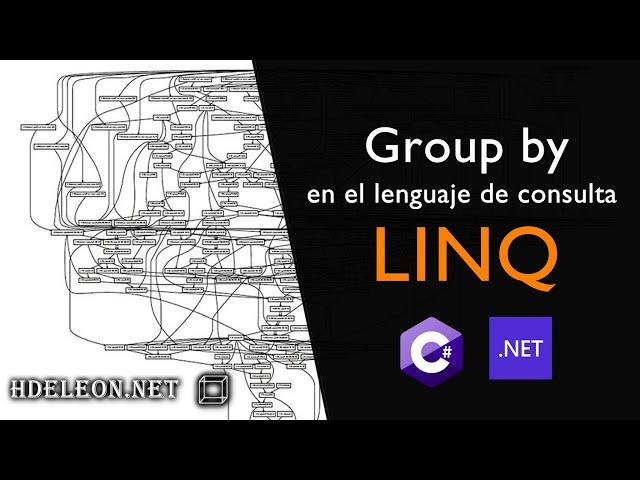 Group by en LINQ, agrupar información en C# .Net como en SQL