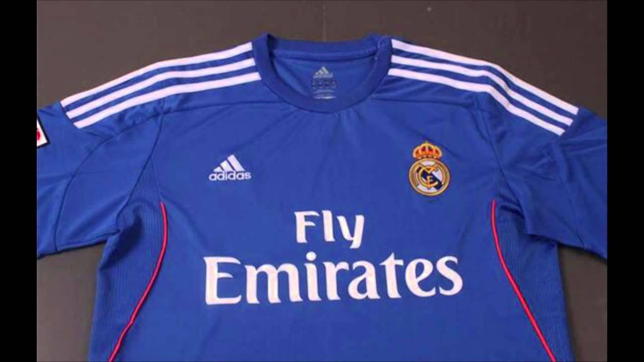 Uniformes Real Madrid 2013-14 - YouTube 85f5d760af0af