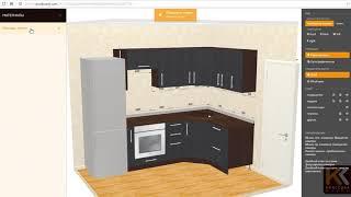 видео Угловая кухня