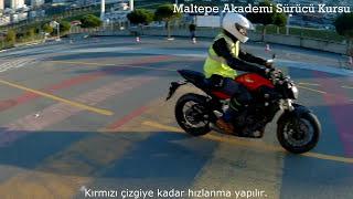 2018 Motosiklet Direksiyon Sınavı a-a1-a2 ehliyet