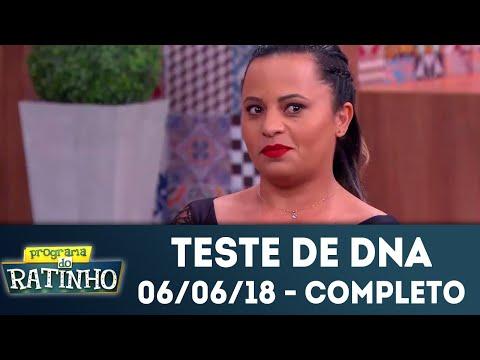 Teste De DNA - Completo | Programa Do Ratinho (06/06/2018)