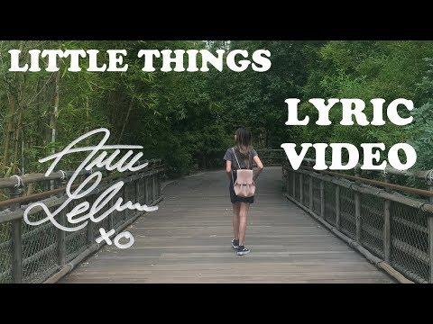 Little Things - Annie LeBlanc | Lyric Video