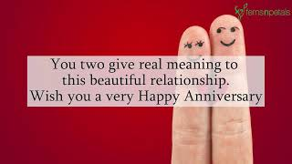 Happy Wedding Anniversary Wishes, Quotes | Anniversary Quotes Videos For WhatsApp