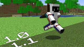 Beating Minecraft BUT, It PROGRESSIVELY UPDATES