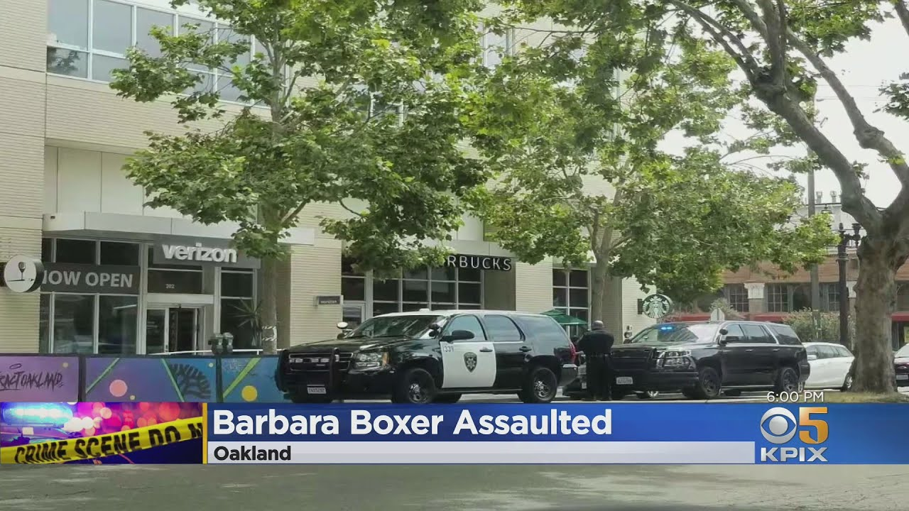 Former senator Barbara Boxer was attacked and robbed in ...