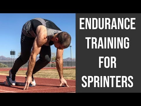 Endurance Training For Sprinters | Speed Endurance Sprinting Workouts For Track