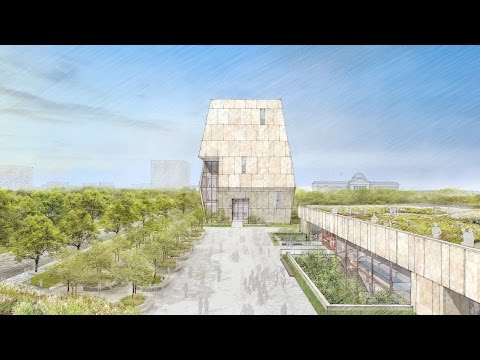 First look at the Obama Presidential Center