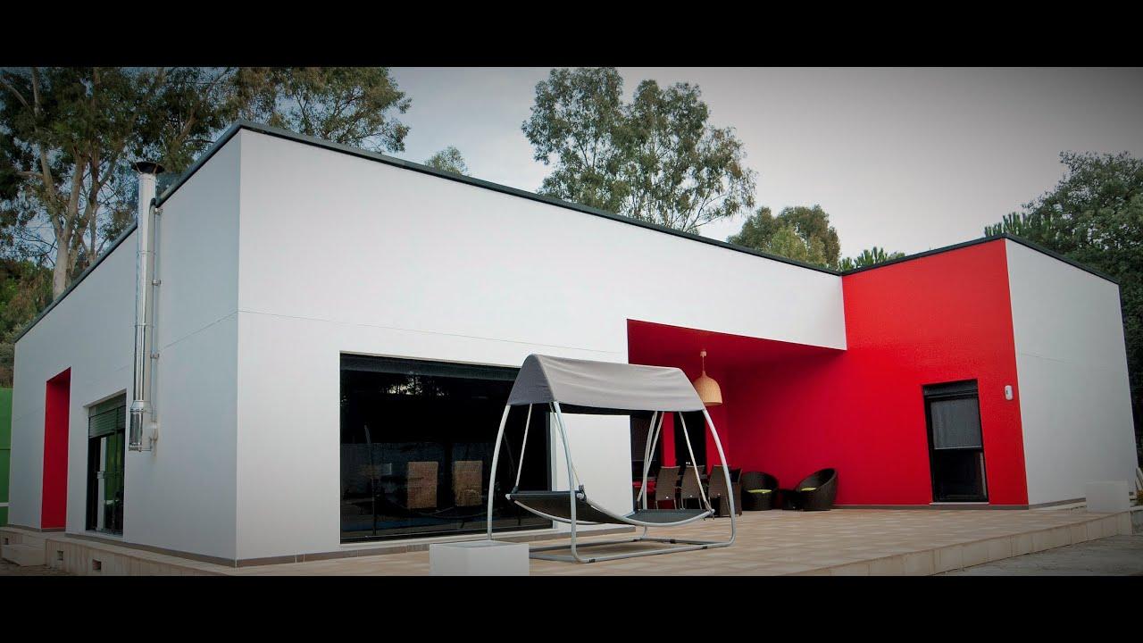 Casas prefabricadas de hormigon qcasa modelo santorini for Casas modulares minimalistas