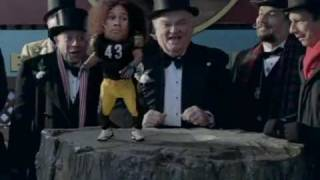 Superbowl 44 Commercial So FUNNY (Troy Palamalu) groundhog day (2010)