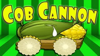 Plants vs Zombies - Cob Cannon song failure!