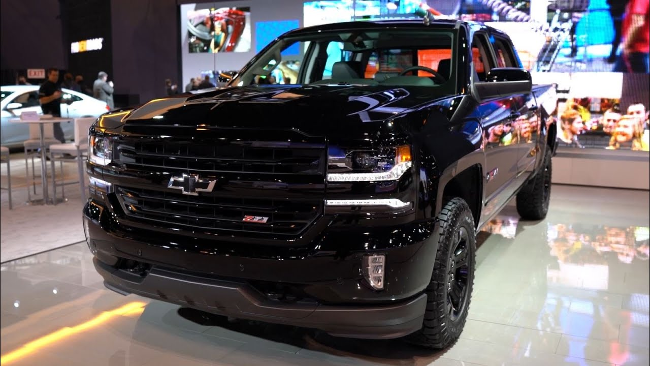 Chicago 2016 Chevrolet Silverado Black Edition