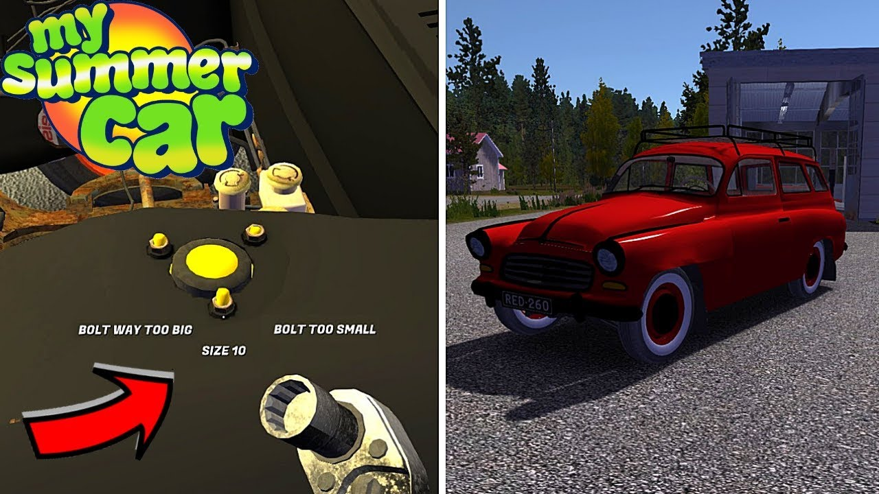 Show Bolt Sizes V2 Ruscko Overhaul My Summer Car 154 Mod