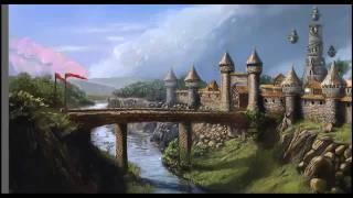 village concept art speedpainting by sentihell YouTube