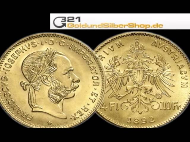 4 Florin Goldmünze (321goldundsilbershop.de)