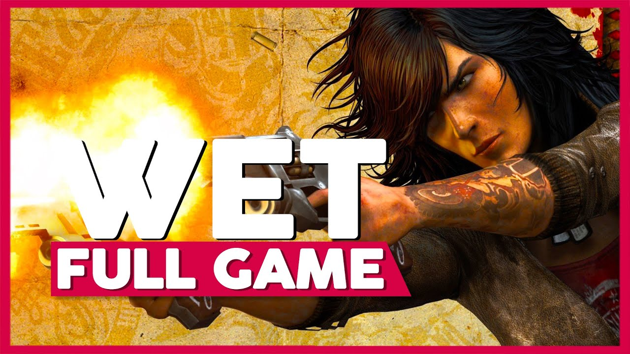 Wet | Full Playthrough | No Commentary [PS3,X360]