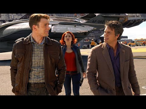 Steve Rogers Meets Bruce Banner & Natasha Romanoff - The Avengers (2012) Movie CLIP HD