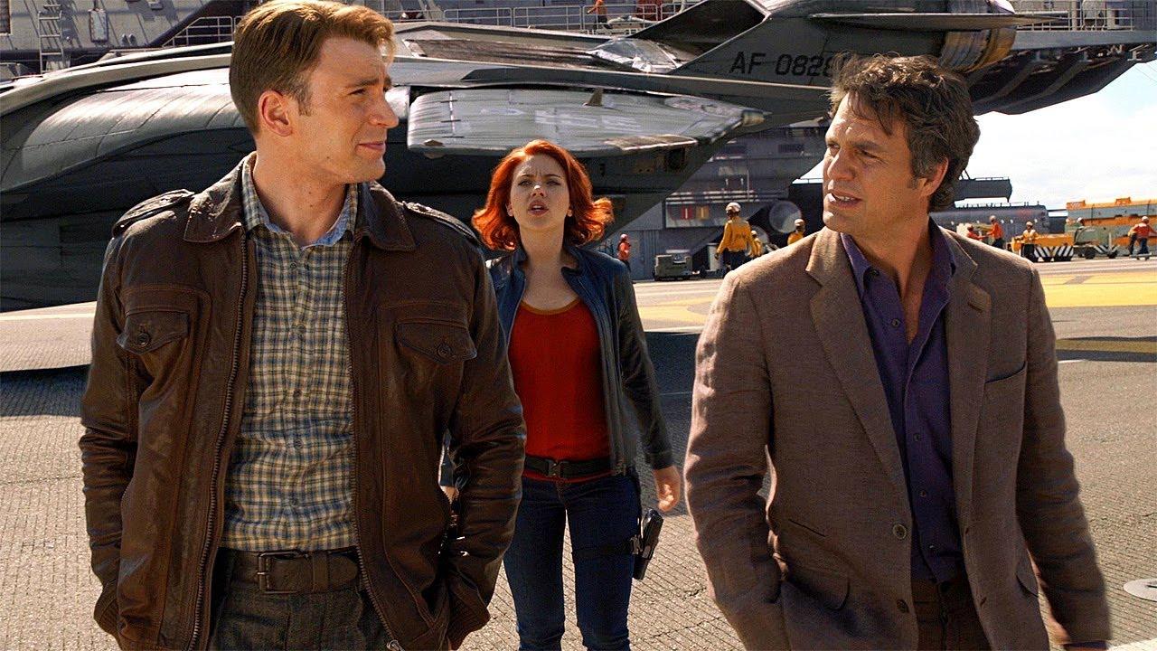 Steve Rogers Meets Bruce Banner Natasha Romanoff The Avengers 2012 Movie Clip Hd