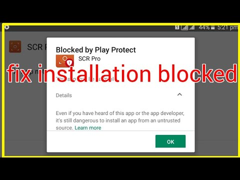 Lucky Patcher Blocked By Play Protect