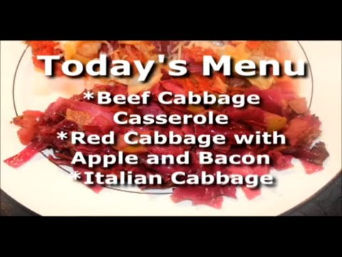 Everyday Manna with Lisa Smith: Cabbage  3 Ways