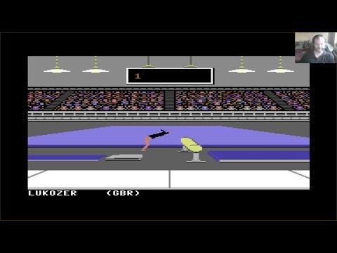 Lukozer Retro Game Review 364 - Summer Games - Commodore 64