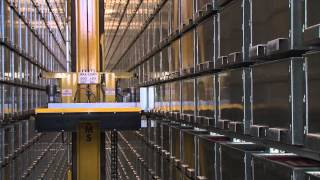 Macquarie University Library - Automated storage and retrieval system