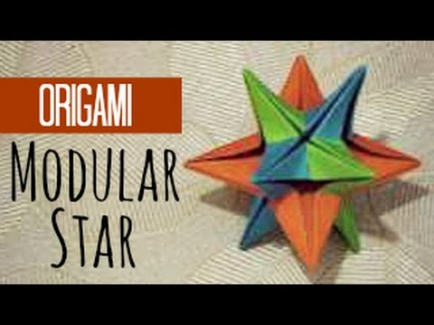 Modular: free diagrams instructing you how to fold unit origami ... | 360x480
