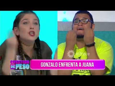 Juana Repetto se cruzó con un participante de CDP