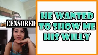 He Wanted To Show Me His WILLY!! | My First Time On Omegle!