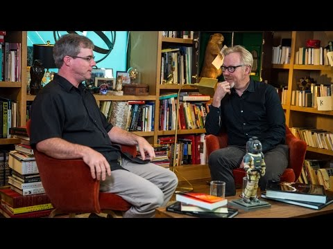 Adam Savage Interviews 'The Martian' Author Andy Weir - The