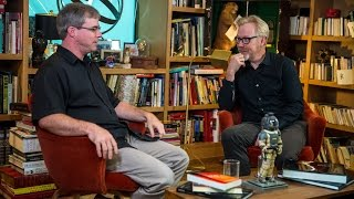 Adam Savage Interviews 'The Martian' Author Andy Weir - The Talking Room
