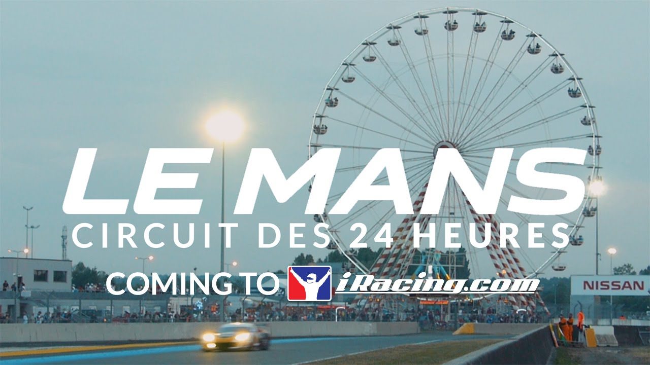 iracing The 24 Hours of Le Mans (24 Heures du Mans)